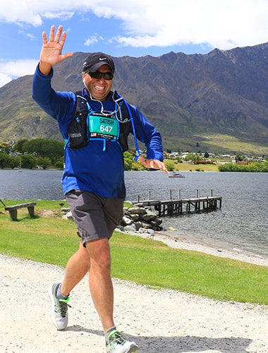 Satish Shenoy Runs Australia